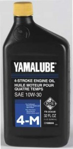 Yamaha has introduced a new 20W-40 version of its Yamalube 4-M, a four-stroke oil that meets the NMMA FC-W standard.