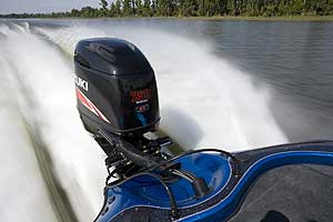 Suzuki designed the DF250SS to be a viable replacement for two-stroke power on bass boats.