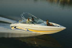 The 247 Islander boasts the benefits of its namesake line, with features that cater to water sports enthusiasts.