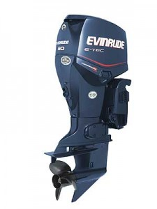 A new Evinrude Commercial 90 intended for work and government applications is designed to operate on a wide range of fuel grades.