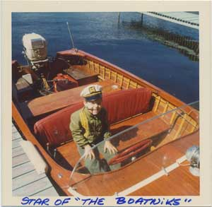 Author Jeff Hemmel has been involved with small boats since he was a boy.