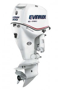 A new SLE Magnum gearcase and stroked 3.4-liter powerhead are key features of the new Evinrude E-TEC 300 outboard, which is aimed at performance off-shore fishing boats.