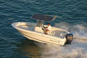 Wellcraft 210 Fisherman launched