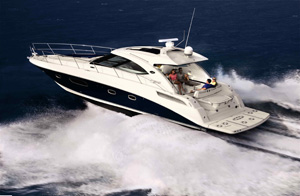 Sea Ray Sundancer 43 New to Series