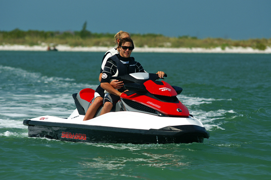 The new Sea-Doo GTX 155 is loaded with electronic technology, but this would be a great PWC even without the gizmos.