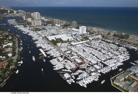 The Fort Lauderdale boat show covers every square inch of waterfront and is a great opportunity to check out what's new.
