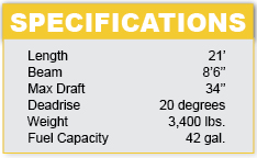 regal-fastrac2100-specifications