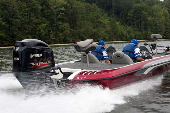 The New Yamaha Four-Stroke V Max - boats com