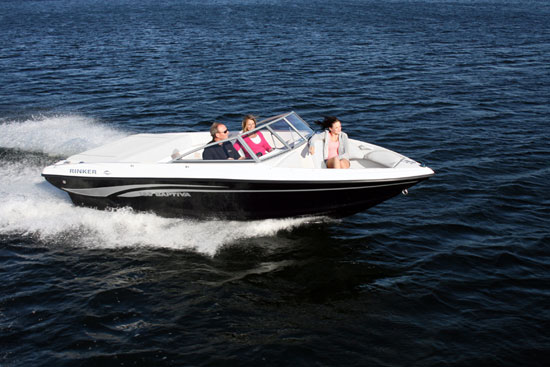 Rinker's new 186 Captiva BR: Affordable Fun