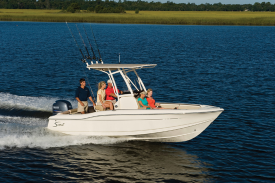 Scout 210 XSF:  Family-friendly Fishing