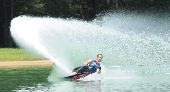 Water Skiing:  A New World Record
