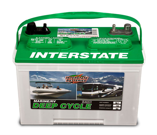 Outboard Expert: Marine Batteries