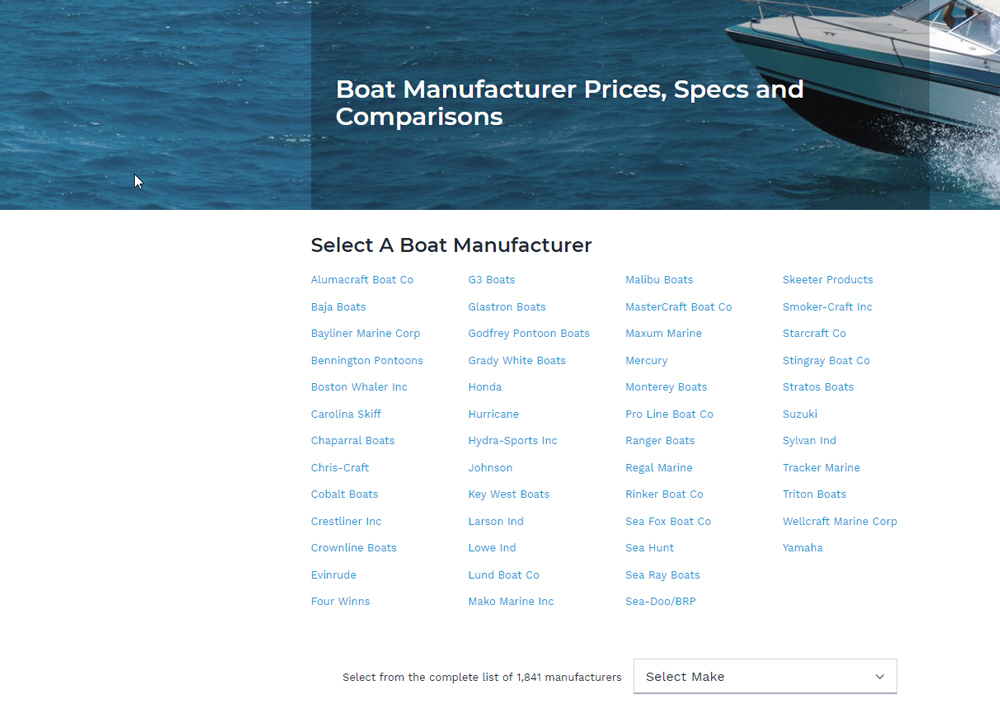 boat prices with nada guides boats com rh boats com Pricing Guide Template used boat motor pricing guide