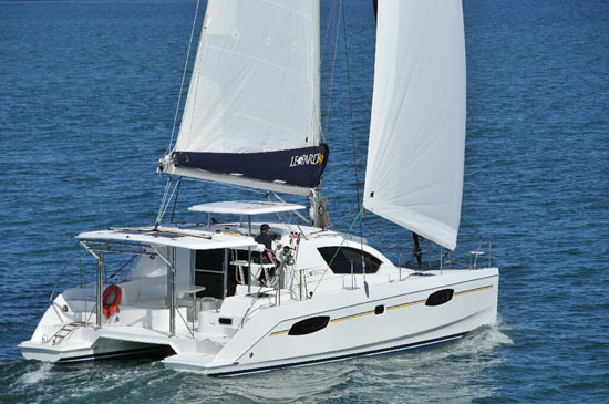 Leopard 39 Catamaran: A Cool Cat Gets a Functional Facelift