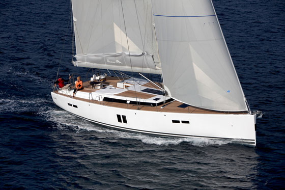 Hanse 545 A Serious And Stylish Offshore Performance