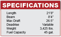 Mastercraft 215V specifications