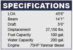 Sabre 456 Specifications