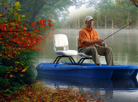 Carolina Electric Boats: Green Fishing Machine