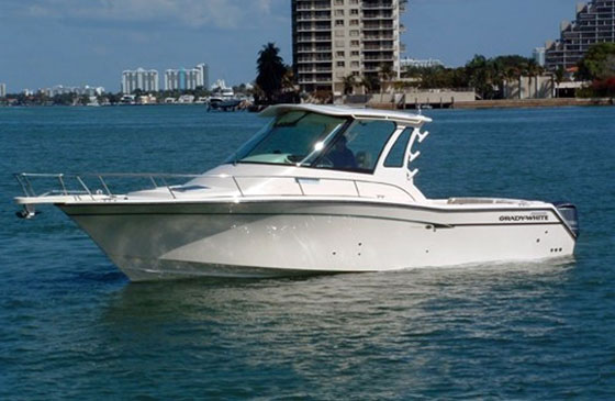 Grady-White Express 330: Full Enclosure - boats com
