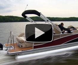 Harris FloteBote Grand Mariner SL250: Video Boat Review