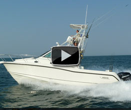 Boston Whaler 345 Conquest: Video Boat Review