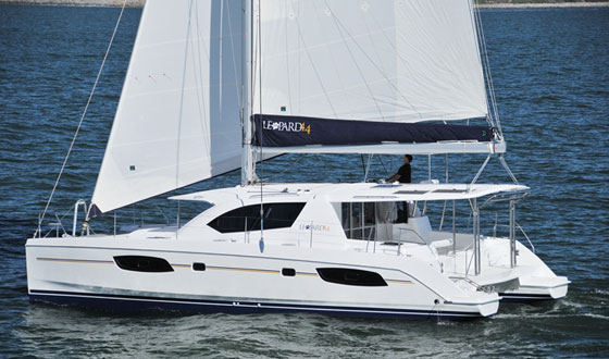 Leopard 44: New Cruising Catamaran, New Ideas