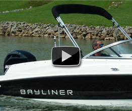 Bayliner 170 OB: Video Boat Review