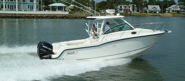Boston Whaler 285 Conquest: Video Boat Review