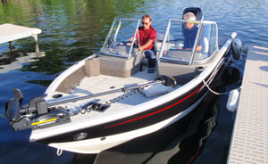 Crestliner 1650 Fish Hawk Boat Test Notes