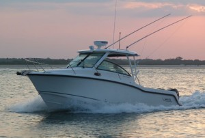 Boston Whaler 285 Conquest Boat Test Notes