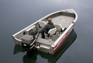 Crestliner 1750 Pro Tiller Back To The Future Boats Com