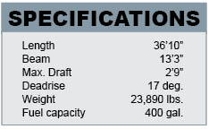 Laurel Point 36 specifications