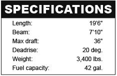 Rinker 196 specifications