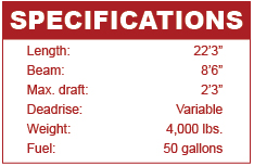 Malibu Wakesetter 22 MXZ specifications