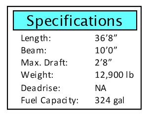Bonadeo 368 walk-around specifications