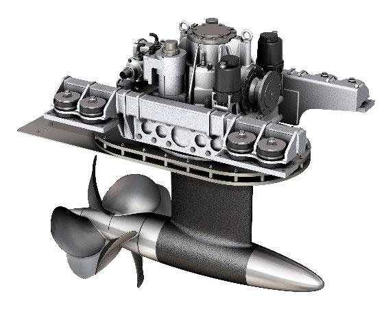 All About Pod Drives: Volvo-Penta IPS, MerCruiser Cummins Zeus, and ZF Marine - boats.com