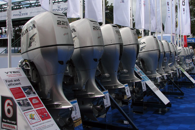 largest mercury outboard motor
