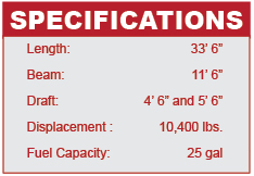 Hunter 33 specifications
