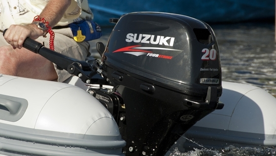 New Fuel-Injected Suzuki DF15A and DF20A Offer Easy Starting - boats com