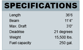 Hunt Harrier 36 shaft specifications
