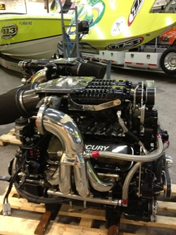 Mercury Racing 1075SCi piston engines
