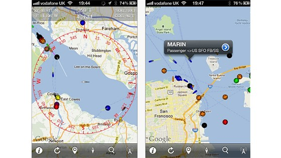 iphone app for ais