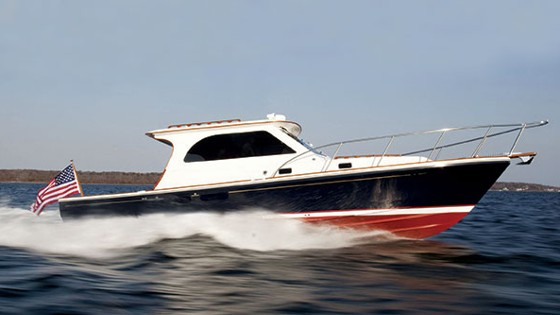 Hunt Harrier 36 with IPS: Perfectly Spectacular!