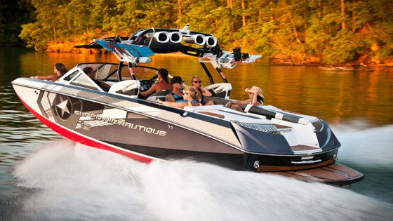 super air nautique g25 water ski and wakeboard boat