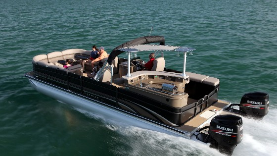 premier wide beam pontoon boats