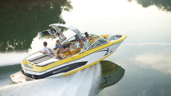 master craft wakeboard wake surfing boat