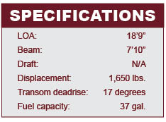 Crestliner 1850 Super Hawk specifications