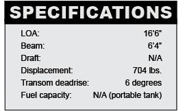 Crestliner Kodiak 16 SC specifications