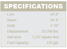 Helia 44 specifications