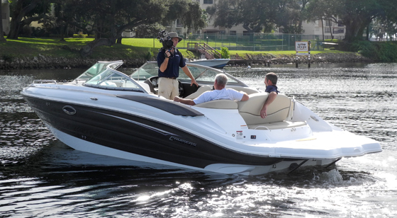 2013 Cruisers Sport Series 278 Boat Test Notes